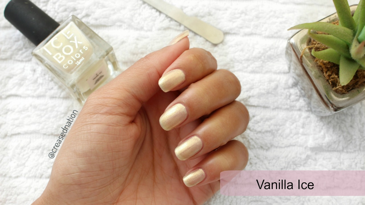 Ice Box Colors | Nail Polish review